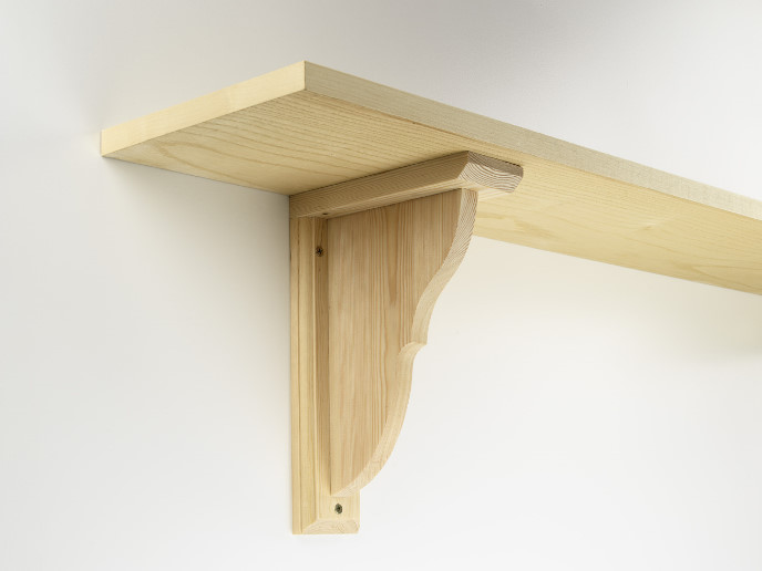 "... Up to 10"" Deep (Protrusion from Wall) Adjustable Shelf Brackets"