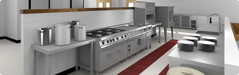 Industrial Kitchen Design 3d Afreakatheart