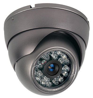 "A 1/3"" SONY SUPER HAD II CCD INFRARED LED TRUE DAY/NIGHT DOME CAMERA 420 LINES"