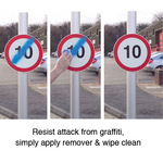 Vandal-Resistant Traffic & Property Signs