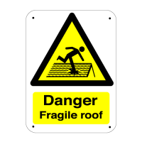 Vandal-Resistant Hazard Warning Safety Signs