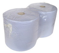 Maxi 2 Ply Blue Giant Wiper Rolls (2 rolls)