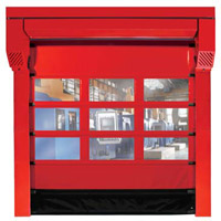 Wide Format Roller Door for Interior Use