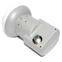 Icecrypt HD Ready Universal Single LNB for Satellite Dish