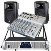 PA SYSTEMS & SOUND SYSTEM MONTHLY HIRE SOLUTIONS